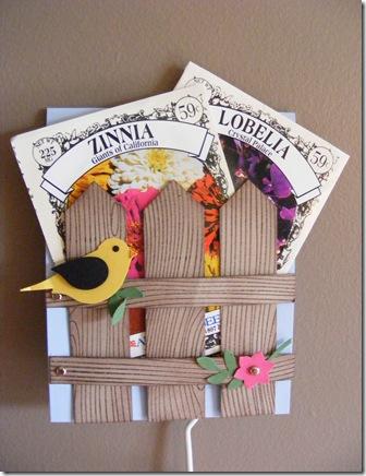 bird seed card