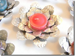 flower tea lights 2