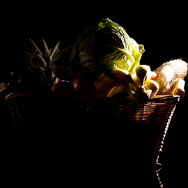 Basket of health by Veronika Gallova - Food & Drink Fruits & Vegetables ( basket of vegetable, still life, fruits, basket, vegetable )