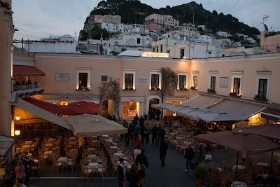 Piazza Umberto I auf Capri