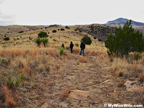Exploring another peak on Davis Mountains