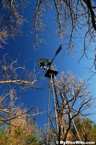 Second windmill at Sam Nail ranch