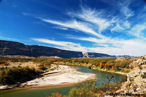 Rio Grande and Santa Elena Canyon - A sight to behold!