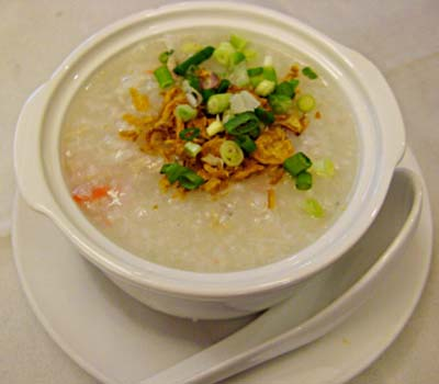 Porridge with Shredded Pork