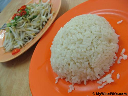 Special rice to eat with the delicious dishes