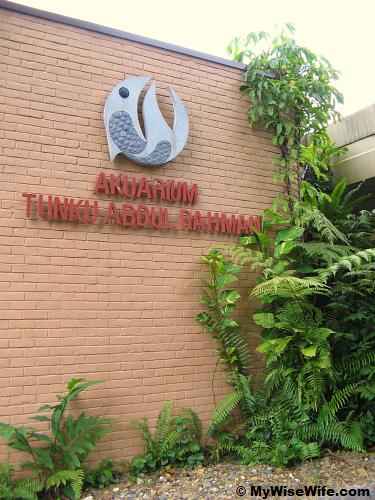 Aquarium at Zoo Negara