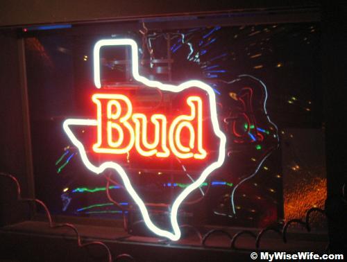 Texans' Bud?