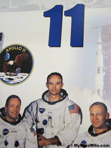 The famous trio on Apollo 11 mission