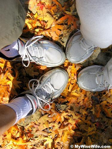 Footprints on Maple Trail?