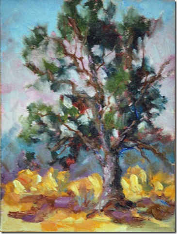 Old Oak - original oil painting