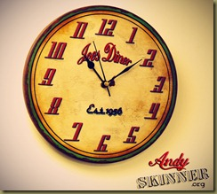 Andy Skinner Retro Clock2