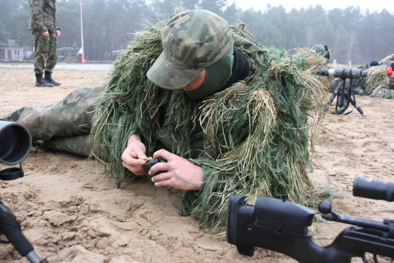 Polish Army snipers