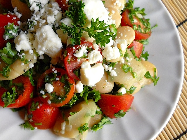 Mediterranean White Bean Salad