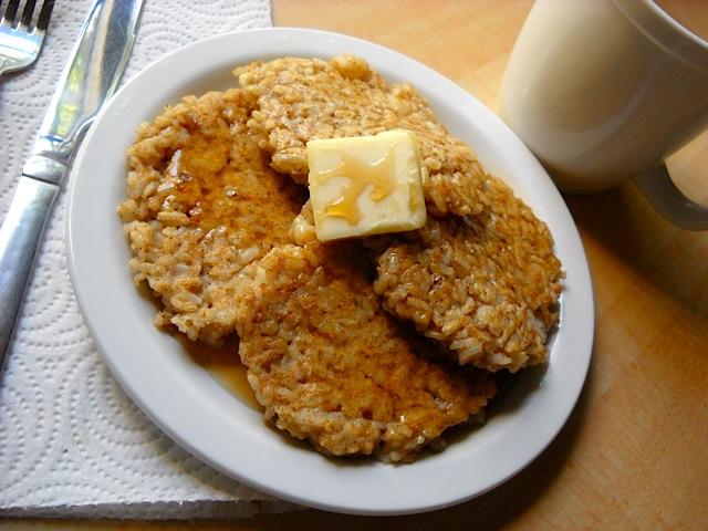 rice pancakes - Budget Bytes