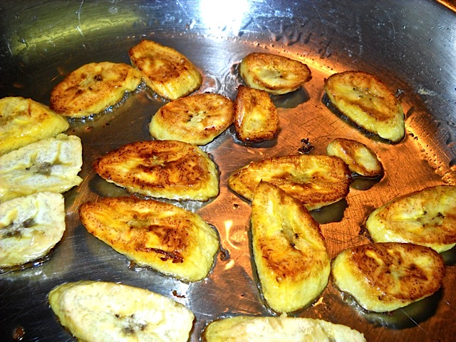fry plantain