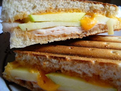 Turkey and Apple Panini