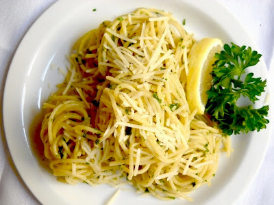 Lemon Parsley Pasta