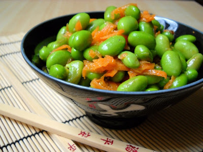 Edamame and Carrot Salad