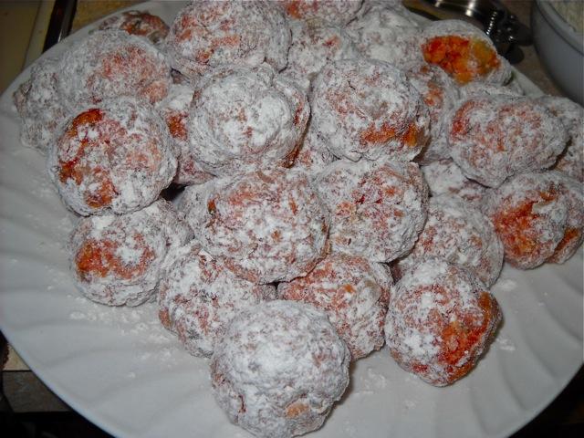 dredged meatballs