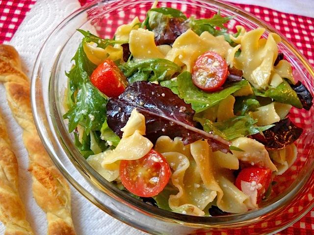 Pasta Salad, literally