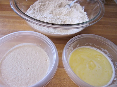 wet &amp; dry ingredients