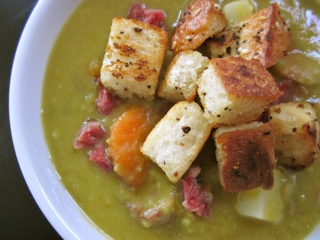 Chunky Split Pea Soup