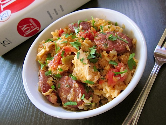 Chicken &amp; Sausage Jambalaya