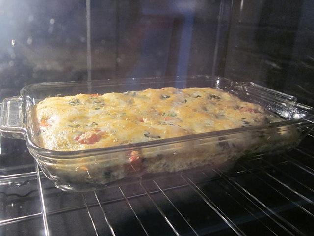 baking egg casserole