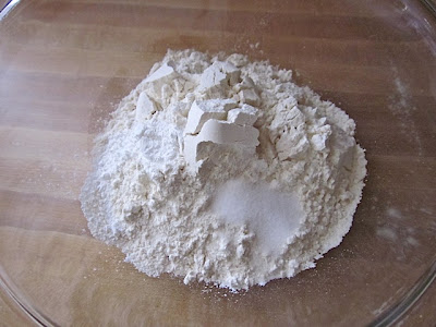 flour salt baking powder