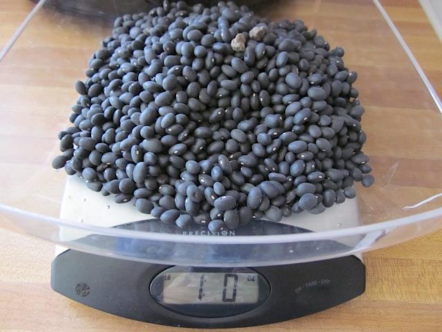 weight beans