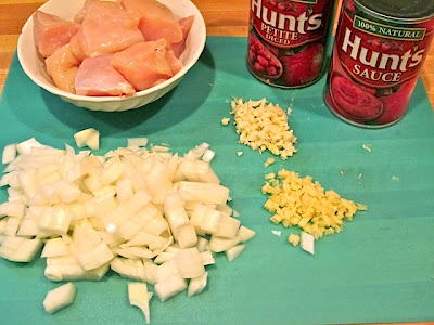 prep ingredients