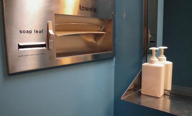 Soap leaf dispenser