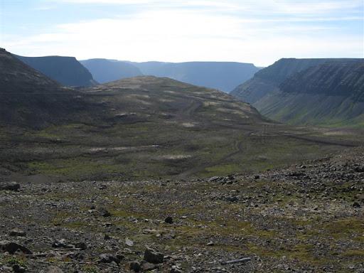 Horft til Önundarfjarðar frá toppi Breiðdalsheiðar
