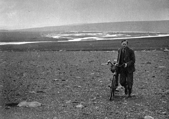 Horace Dall á öðrum degi ferðarinnar yfir Sprengisand