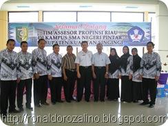 Tim Badan Akreditasi Propinsi; Meng Akreditasi SMAN Pintar