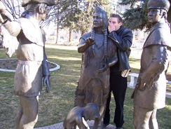 John with Nez Perce meet Lewis and Clark