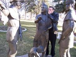 John with Nez Perce meet Lewis and Clark