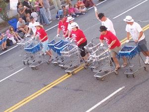 Drillin' w/ the QFC cart crew