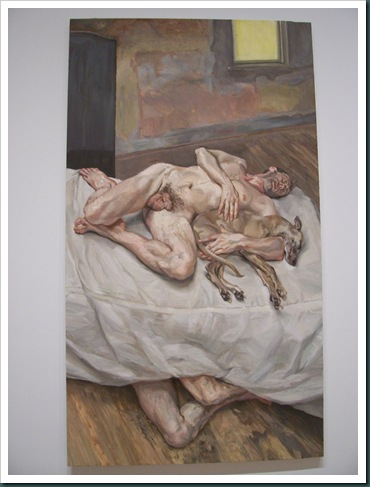 Sunny Morning–Eight Legs by Lucian Freud
