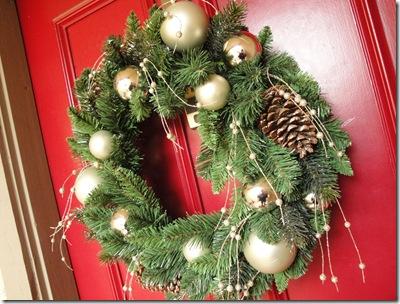 1.  Christmas Wreath