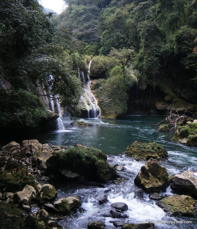Semuk Champey waterfalls