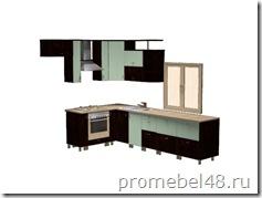 проект угловой кухни