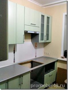 кухня штрокс зелёный