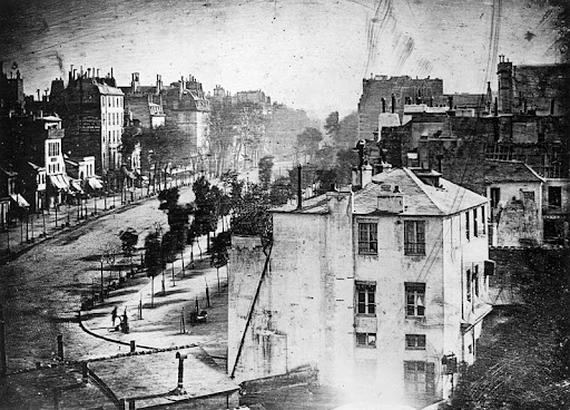 This 1838 photograph is the