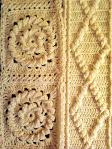 AFGHAN CROCHET FISHERMAN PATTERN Crochet Patterns