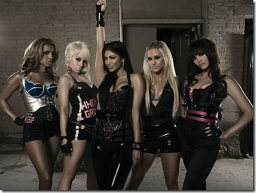 Pussycat Dolls Stunning Desktop Wallpaper 1024x768 Water Mark Free