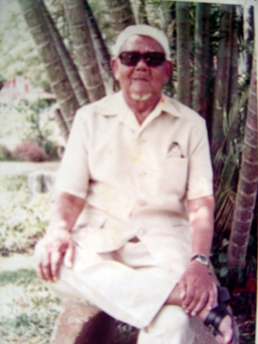 Tok Bak in his later years