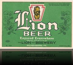 LionLionBeerLabel
