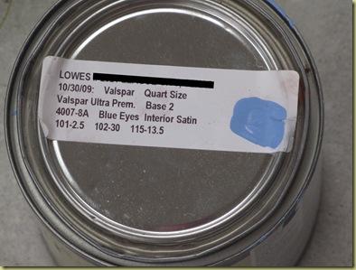 Blue Eyes Label