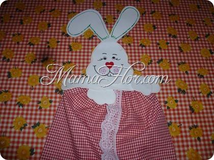 Porta medias de conejo